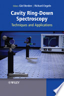Cavity Ring Down Spectroscopy Book