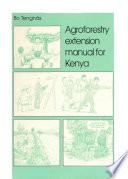 Agroforestry Extension Manual for Kenya