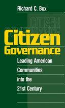 Citizen Governance