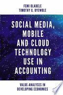 Social Media  Mobile and Cloud Technology Use in Accounting