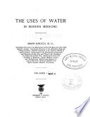 The Uses of Water in Modern Medicine