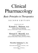 Clinical Pharmacology Book PDF