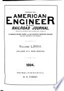 American Engineer and Railroad Journal Book