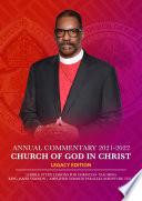 Church Of God In Christ Annual Lesson Commentary 2021 2022  KJV AMP