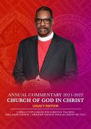 Pdf Church Of God In Christ Annual Lesson Commentary 2021-2022 [KJV-AMP] Telecharger