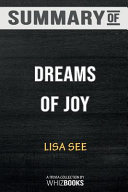 Pdf Summary of Dreams of Joy