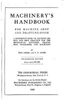 Handbook for Machine Shop and Drafting room