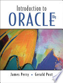 Introduction to Oracle 10G