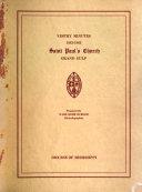 Vestry Minutes 1843 1863 St Paul S Church Grand Gulf Mississippi