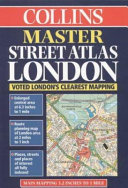 Collins Master Street Atlas London