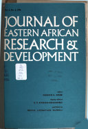 Journal Of Eastern African Research And Development