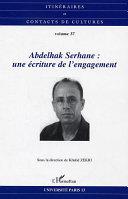 Pdf Abdelhak Serhane: une écriture de l'engagement Telecharger
