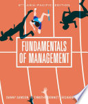 """Fundamentals of Management with Student Resource Access 12 Months"" by Danny Samson, Richard L Daft, Timothy Donnet"