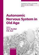 Pdf Autonomic Nervous System in Old Age
