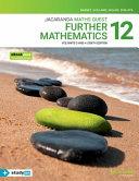 Cover of Jacaranda Maths Quest : Further Mathematics