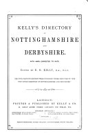 Post Office Directory of Derbyshire and Nottinghamshire