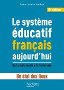 Pdf Le système éducatif français aujourd'hui Telecharger