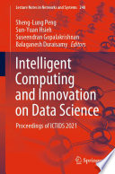 Intelligent Computing and Innovation on Data Science