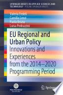 EU Regional and Urban Policy