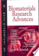 Biomaterials Research Advances