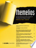 Themelios  Volume 35  Issue 2 Book