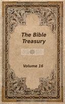 The Bible Treasury [Pdf/ePub] eBook