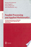 Parallel Processing and Applied Mathematics Book