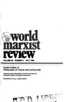 World Marxist Review Book