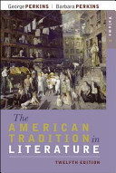 The American Tradition in Literature  Volume 2  book alone