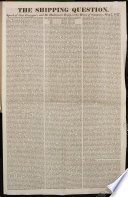 The Shipping Question  Speech of Gen  Gascoyne  and Mr  Huskisson s Reply  in the House of Commons  May 7  1827   Earl Grey s Opinion of the New Administration  Delivered in the House of Peers  on the 10th of May  1827