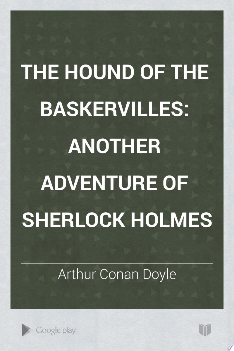 The Hound of the Baskervilles banner backdrop