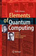 Elements of Quantum Computing Pdf/ePub eBook