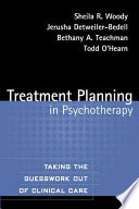Cover of Treatment Planning in Psychotherapy