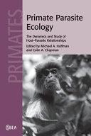 Primate Parasite Ecology Book