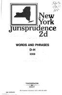 New York Jurisprudence 2d