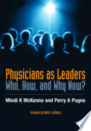 Physicians as Leaders Book