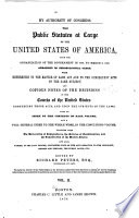 The Statutes at Large and Treaties of the United States of America from     Book