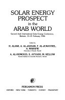 Solar Energy Prospect in the Arab World Book