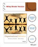 Organizational Behavior   Wileyplus