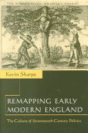 Remapping Early Modern England
