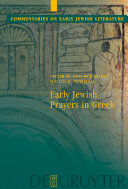 Early Jewish Prayers in Greek