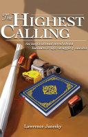 Pdf The Highest Calling