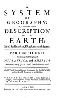 Containing the Description of Asia, Africa, and America. Written in Latin by Joan. Luyts Professor in Acad. Ultraj. English'd with Large Additional Accounts of the East-Indies, and the English Plantations in America ; Illustrated with Maps, Fairly Engraven on Copper, According to the Modern Discoveries and Corrections, by Hermann Moll ebook