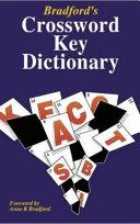 Bradford's Crossword Key Dictionary