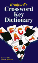Bradford's Crossword Key Dictionary