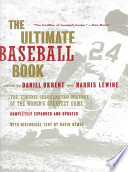 The Ultimate Baseball Book