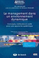 Le management dans un environnement dynamique