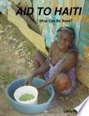 Aid to Haiti Book
