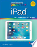 Teach Yourself VISUALLY iPad  : Covers iOS 9 and all models of iPad Air, iPad mini, and iPad Pro