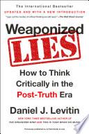 Weaponized Lies Book